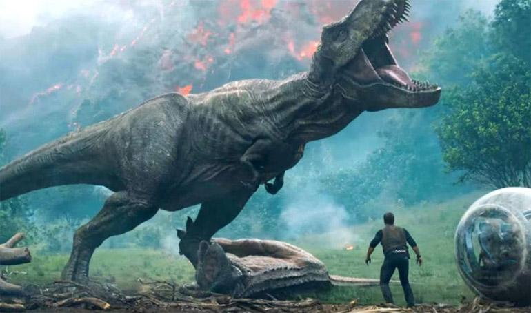 Новый фильм про динозавра 2018